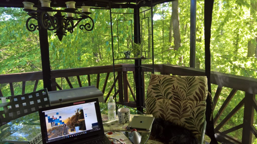 Peaceful Treehouse Office